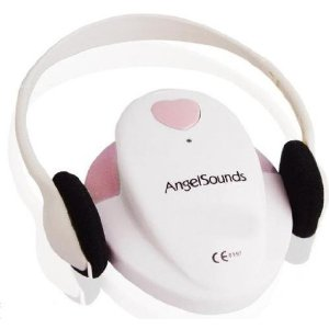 baby heartbeat monitor  from Angelsound fetal heart detector