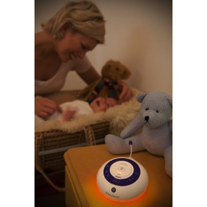 BT baby monitor 250 glow light